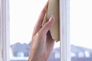 Preparation de la fenêtre