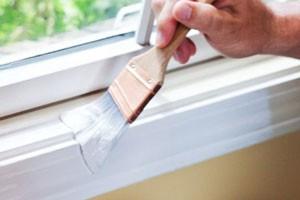 Repeindre une fenêtre